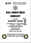 Christmas Concert Flyer