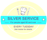 Silver Service every Tuesday
